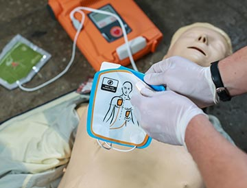 Level 2 Award in Cardiopulmonary Resuscitation and Automated External Defibrillation – NOT USED
