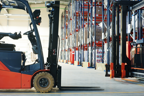 Novice Counterbalance Forklift Truck Operator
