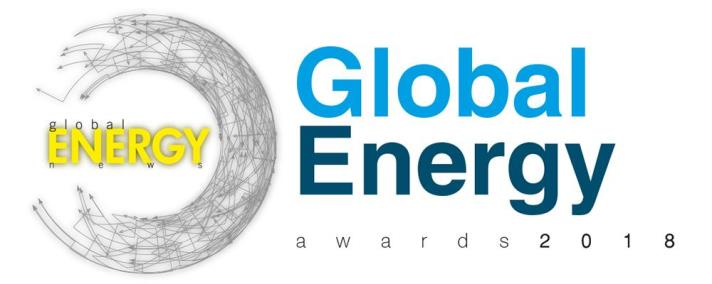 Success in the Global Energy Awards 2018